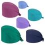 護士帽 手術帽 ⚡ 現貨 ⚡ 純色 手術室 帽子純棉男女美容整形麻醉醫生 手術帽  護士帽 口腔 工作帽