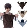 日本品牌MINIZONE深藍色橫條紋第三代護頸加強版X型減壓護頸揹帶揹巾新生兒嬰兒背帶背巾攜帶型