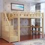 「免運免安裝」 單人3.5 雙人 5尺 高架梯櫃床 上下床 雙層床 可訂製 (小蘋果家具)1901