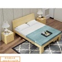紐西蘭松木全實木雙人床 1.8米主臥現代簡約雙人1.5木床1.2m單人成人出租房經濟床架 促銷