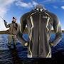 特價現貨DAIWA XS-7XL一件客製 長袖連帽釣魚服釣魚服 金屬拉鏈 批發防曬服定制垂釣服 速幹衣冰絲垂釣服釣魚服