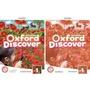 【附音視頻】Oxford Discover 1-3 學生用書+練習冊 共6本 牛津探索分級教材