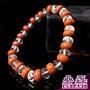 白水晶 紅磚石 平衡內心 手串(微礦紋)《碞磊國際水晶礦石》【編號】ABWB0017