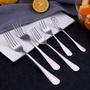 [優心館] 304不銹鋼系列叉子 不銹鋼主餐叉 創意水果叉 蛋糕叉 禮品餐具 月餅刀叉「廚房用品」
