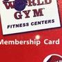 基隆world gym會員轉讓