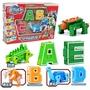 字母數字變形恐龍機器人金剛戰隊合體3-6-10歲男孩益智兒童玩具  露露日記