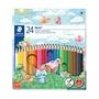 開學季促銷 施德樓 快樂學園 油性色鉛筆 24色/盒 MS144NC24
