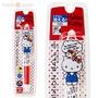◇FollowV◇日本三麗鷗《現貨》Hello Kitty 立體凱蒂貓設計 FRIXION 三色擦擦筆/原子筆 日本製