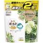【日本🇯🇵P&G】BOLD洗衣膠球30個入補充包-珍珠植物花香/綠色
