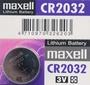 maxell CR2032 鈕扣型鋰電池 3V/一顆入(促40) 水銀電池 手錶電池-傑梭