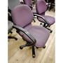 【土城二手市集】高級扶手電腦椅 紫羅蘭色厚泡棉椅墊 辦公椅 升降椅 大學椅 書桌椅 洽談椅 電競椅