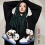 PONY x JOLIN 合作款 蔡依林 怪美的 塗鴉球鞋  (布魯克林)