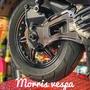 [ Morris Vespa ] Zelioni 排骨 支架排氣管支架 GTS GTV