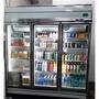 二手三門冷藏飲料展示冰箱