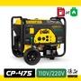 美國謙品 CP-475 環保雙燃料發電機 110V/220V 4.75KW 4750W 瓦斯發電機
