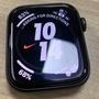 [二手九成新]Apple Watch S4 44mm Nike+ GPS 太空灰色鋁金屬錶殼搭配黑色矽膠錶環