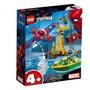 LEGO 樂高 超級英雄 76134 蜘蛛人 八爪博士鑽石搶劫戰