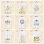日系卡通 角落生物 兒童短袖T恤 親子裝 幼稚園 班服 校服 團服 紀念衫 定制