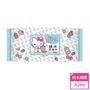 【HELLO KITTY】凱蒂貓超純水有蓋柔濕巾/濕紙巾100抽 X 24包 特選柔軟水針布(箱購)