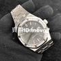 腕錶精選-JF廠系列  AP 愛彼 皇家橡樹精鋼鑲鑽灰面機械錶15451ST.ZZ.1256ST.02
