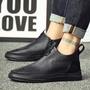 ஐ♀✟免費代發頭層牛皮馬丁靴男式真皮男鞋潮鞋切爾西靴騎士靴男靴真皮