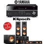 Klipsch Reference Premiere RP-280F 5.1-Ch Home Theater System with Yamaha RX-V683BL 7.2-Ch 4K Network AV Receiver