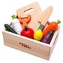 [預購]日本代購 Woody Puddy 木製蔬菜水果切切樂(含木箱)
