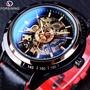FORSINING富西尼350男士彩帶透底機械手表Mechanical watch可代發