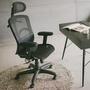 Home Feeling 透氣網椅/電腦椅/高背/氣墊腰靠-65X65X120cm