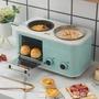 麵包機 網紅早餐機家用小型多功能四合一懶人全自動電烤箱面包機神器抖音 生活主義 【交換禮物】