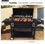 BBQ 出口大型別墅庭院歐式燒烤爐商用戶外木炭燒烤架烤肉專業烤箱WD 初語生活館