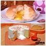 【奧瑪烘焙】奶油餐包10入/包X4包+原味奶蓋蛋糕X2(獨家商品)