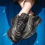 【日本海外代購】Nike Air Max 97 UL 17 針織 輕量 全黑 黑魂 子彈 反光 氣墊 慢跑  男