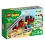 <Brick Papa> LEGO 10872 Train Bridge and Tracks