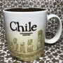 星巴克城市杯 Starbucks City Mug icon 智利 V1 Chile 16oz 有瑕