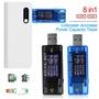 八合一USB電流電壓檢測儀KWS-MX17