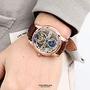 范倫鐵諾˙古柏 雙面鏤空機械錶