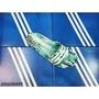 大益-ADIDAS DURAMO SLIDE 一體成形 防水  輕量 拖鞋 潑墨 黑綠 S77982