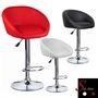 外銷品牌.設計家具 紳士與淑女吧台椅 高腳椅 皮椅 酒吧 餐廳 接待所 設計師 黑 白 紅  LOG-208