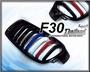 ☆小傑車燈精品☆限量首刊 寶馬BMW F30 M款泰國國旗消光黑 水箱罩 可詢問F01 F02