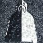 【L】BAPE✖️NBHD 聯名款 2019新款暗黑系列鯊魚骷髏頭黑白迷彩拼接薄款長袖連帽外套 原標8556