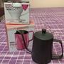 咖啡器具 V60日本製 1-2人 錐形手沖上座 手沖壺 Tiamo 桃紅 尖嘴 二手拉花鋼杯