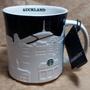 星巴克 奧克蘭 浮雕杯