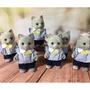 森林家族 絕版藍貓 手可持物