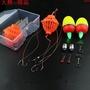 鰱鳙釣組海竿釣專用鉤彈簧鉤線組大頭魚鰱魚fg釣組套裝成品全套浮。813