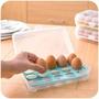 (瑕疵)露營 戶外 防撞裂 15格雞蛋盒 雞蛋保鮮盒 蛋盒 攜蛋盒 收納盒 雞蛋收納盒 可攜式雞蛋盒 雞蛋保護盒 保