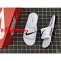 Nike Benassi Swoosh 耐吉全氣墊拖鞋 黑白配色 男拖鞋