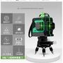 【復古雜貨】專德國技術/妙有12線水平儀/綠光紅外線/紅光投線/室外強光8線藍光3D貼墻高精度自動雷射水平儀