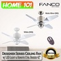 Fanco Designer Series Ceiling Fan w/ LED Light Remote Ctrl Breeze 42