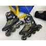 迪卡儂購入 成功 S0350 鋁合金成人道路直排輪 道路溜冰鞋 成人溜冰鞋 (贈收納袋+護具)